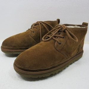 UGG 3236 Neumel Suede Shearling Chukka Boots 8
